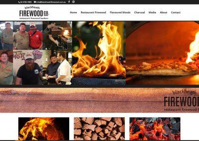 Blackheath Firewood Business Website Design