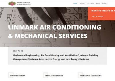 Linmark Air Conditioning Website Development