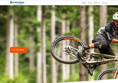 Pivot Cycles Australia Website Design