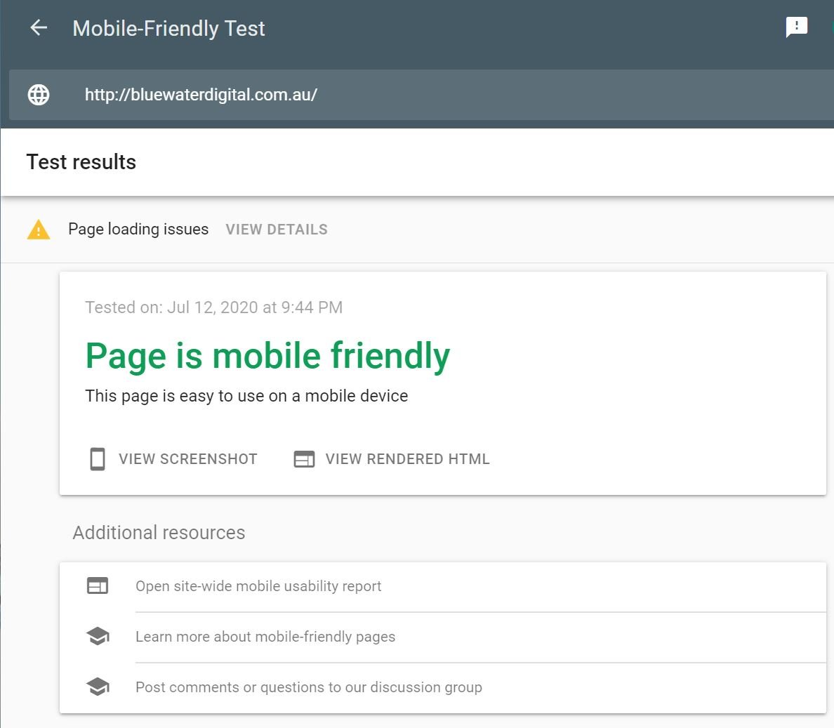 Ways to Improve Site Rank - Mobile-Friendly Test