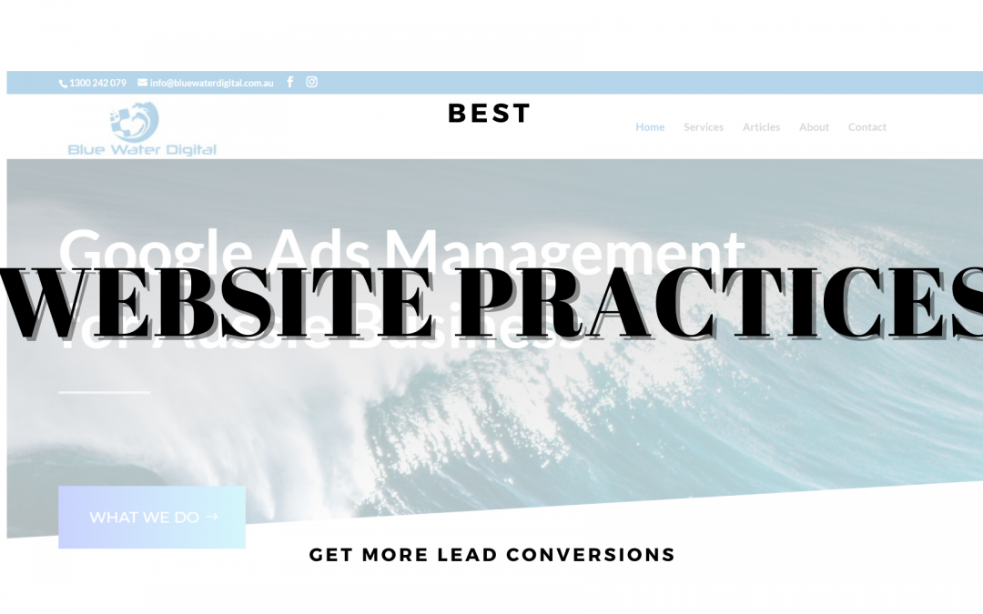 Best Website Practices 2020 – Get More Lead Conversions