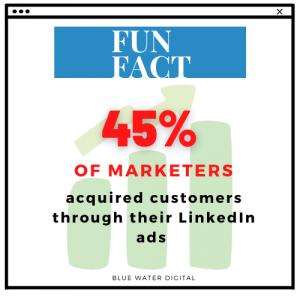 Fun Fact - LinkedIn Marketers