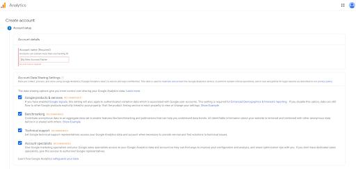 Step Google Analytics