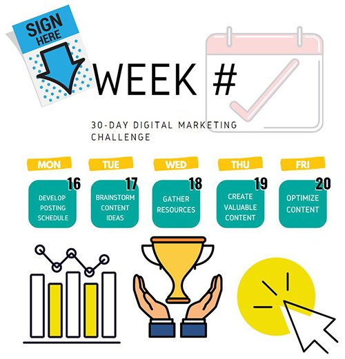 30-Day Digital Marketing Challenge