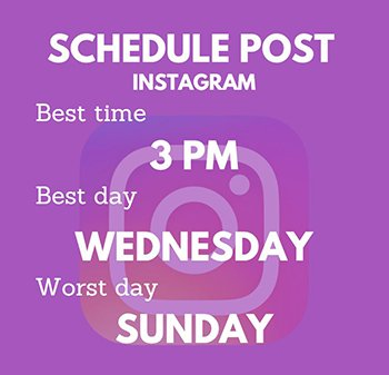 Schedule Post - Instagram