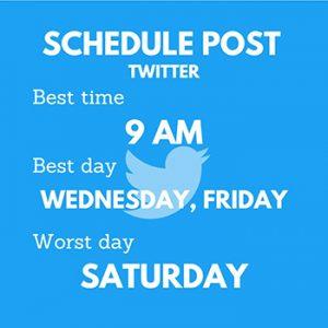 Schedule Post - Twitter